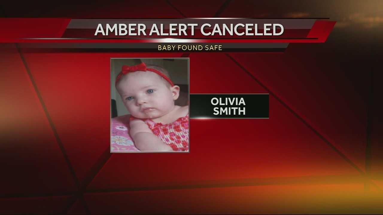 Amber Alert canceled for Olivia Smith