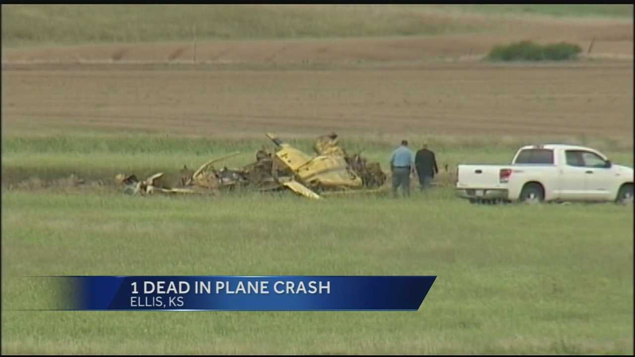 Image Western Kansas plane crash