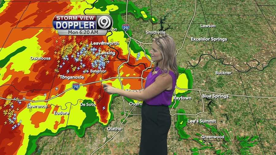 """What does Erin love the most about her job? """"We save lives when it matters most. I am part of the team you trust for weather coverage. It's a big responsibility...and I am honored to be part of this great weather team!"""""""