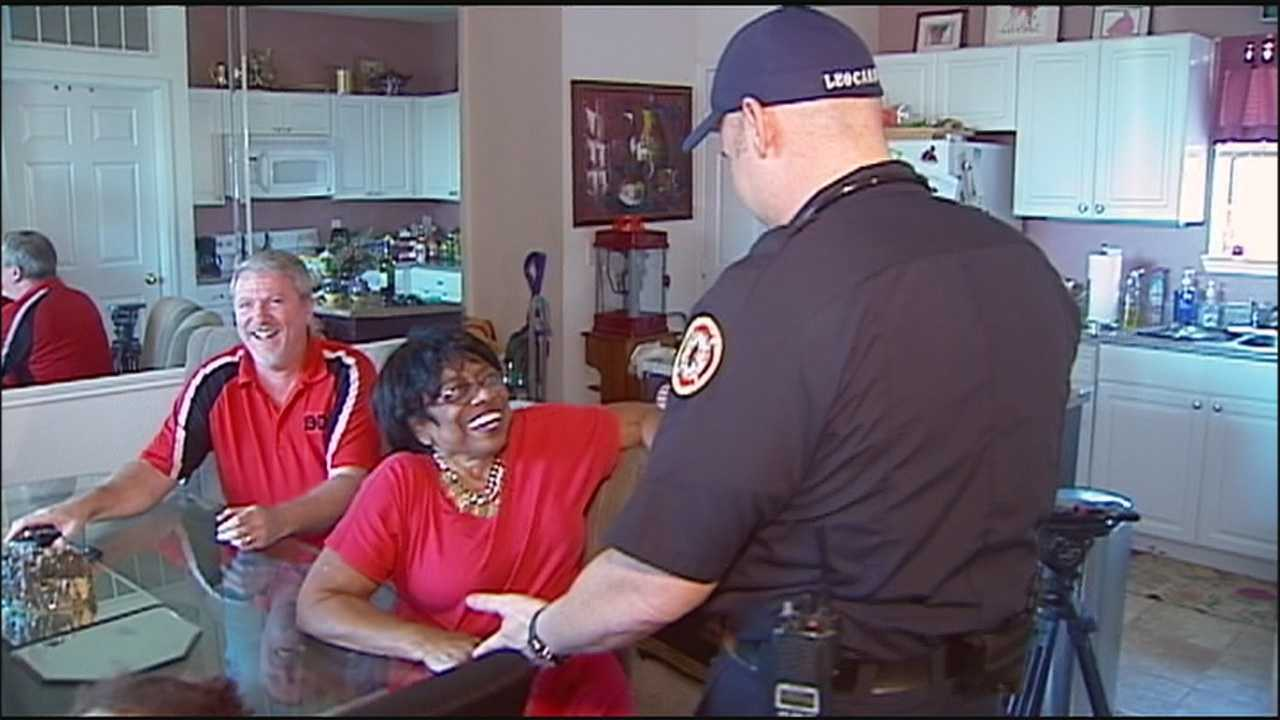 Joan Newby needed -- and got -- life-saving CPR after going into cardiac arrest. She's grateful for having the opportunity to personally thank the people who saved her.
