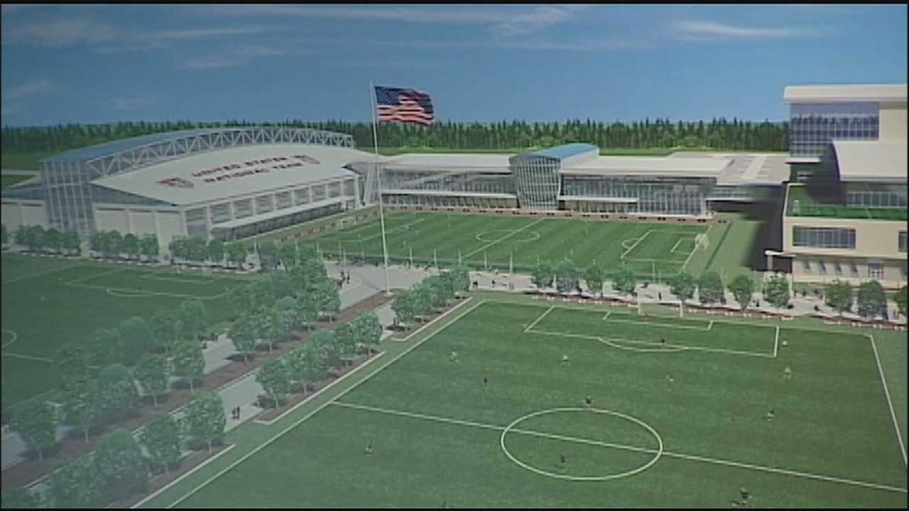 A national training center for United States soccer stars and a coaching academy appear to be on the way to Kansas City, Kansas.