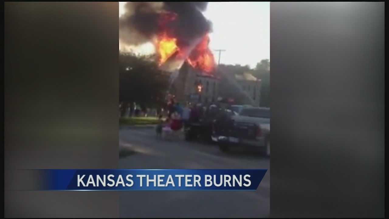 Abilene theater fire