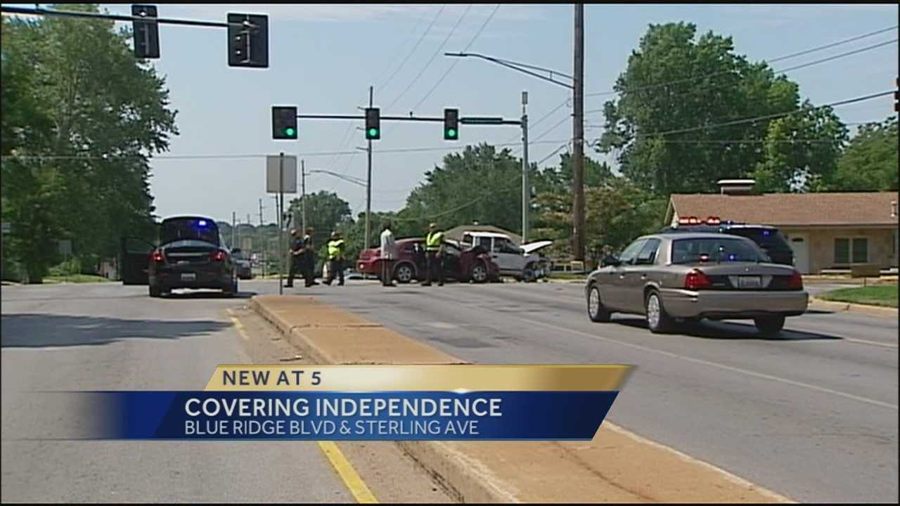 An 11-year-old was killed in a 2-vehicle crash in Independence on Friday morning.