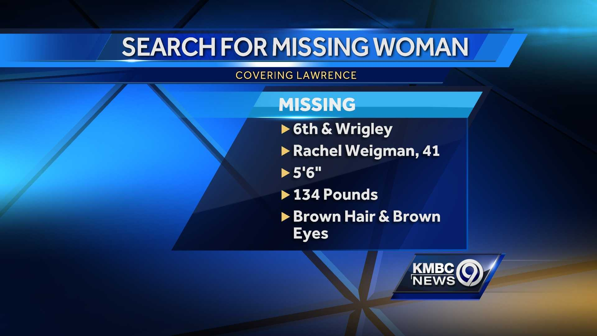 Police searching for missing Lawrence woman