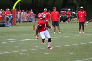 Chiefs rookie De' Anthony Thomas continues getting different looks at special teams, with the wide receivers, and out of the backfield.