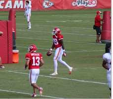 Kansas City Chiefs fans look forward to a wide receiver emerging from training camp.