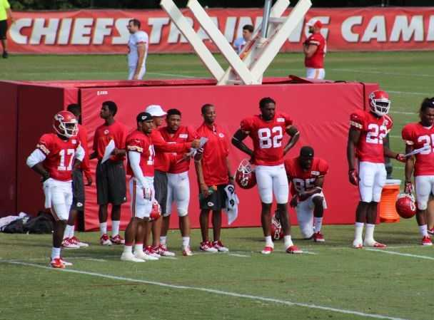 Dwayne Bowe has played more than 100 career games for the Chiefs and is the clear-cut leader of the wide receivers. There are opportunities for a complimentary receiver to emerge in camp.