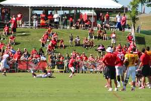 Chiefs training camp continued Wednesday morning at Missouri Western State University. The Kansas City coaching staff is creating different opportunities for rookie De'Anthony Thomas in the offense.