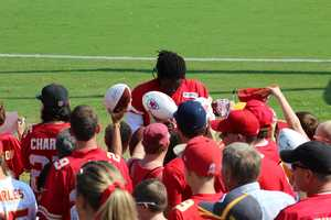 Chiefs wide receiver Junior Hemmingway has missed multiple practices with an injury, including Monday's session at Missouri Western State University.