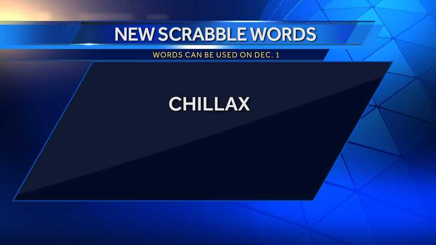 Chillax:to calm down