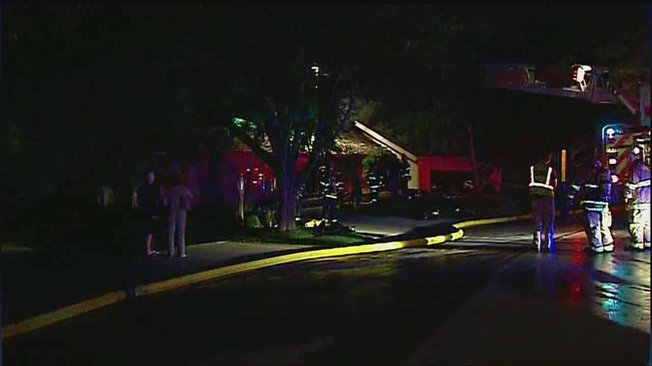 Leawood house fire