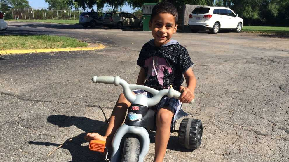 Image Young boy in Grandview safe after kidnapping