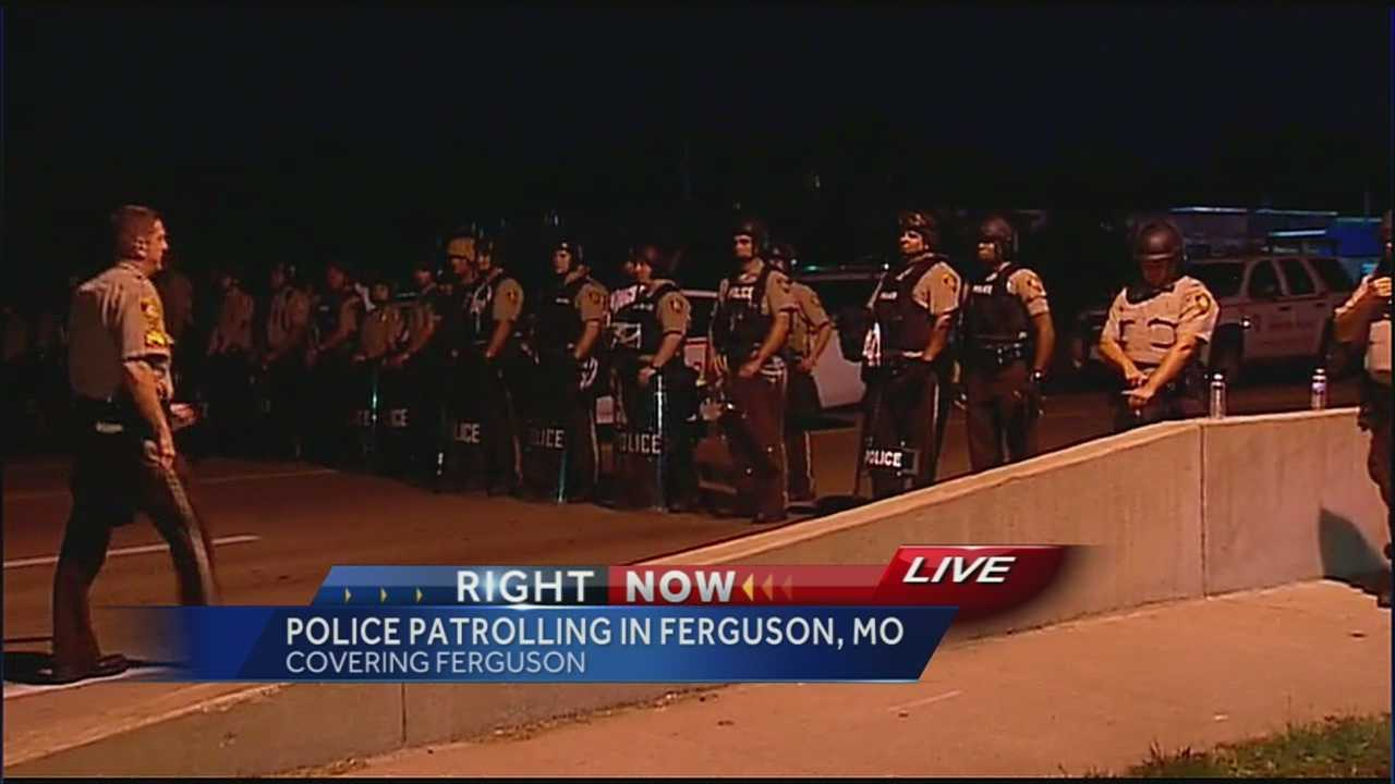 Image Police protests in Ferguson