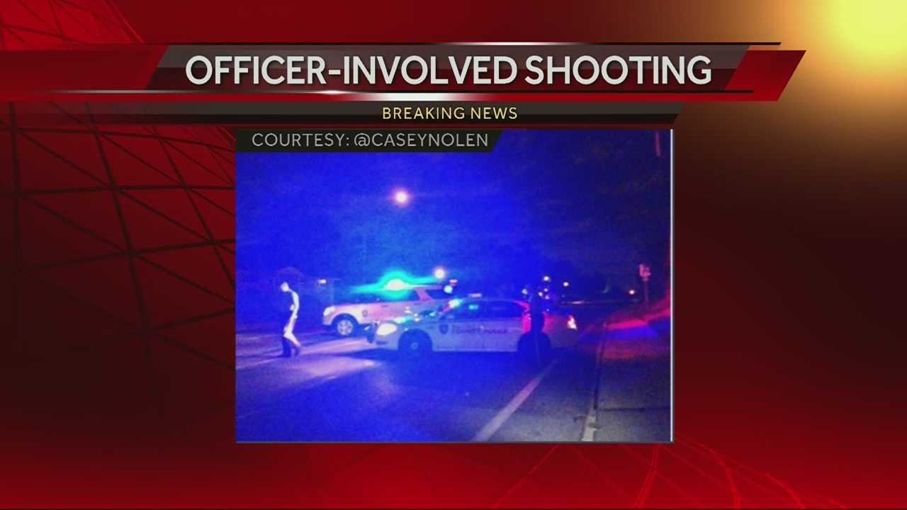 Officer-involved shooting near Ferguson