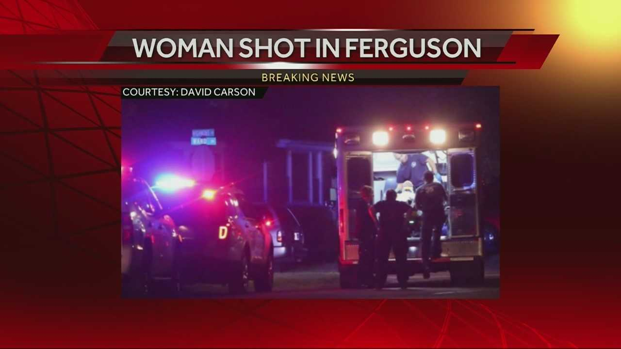 Woman injured in Ferguson drive-by shooting