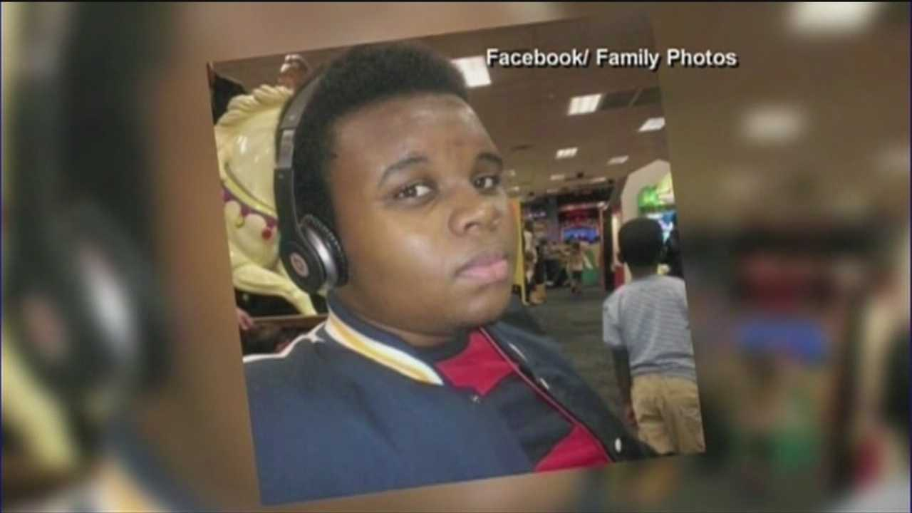 Michael Brown, the unarmed teen killed by police in Ferguson, Missouri.