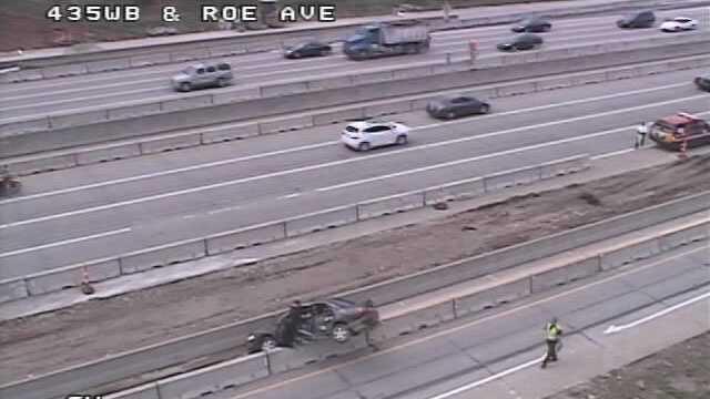 I-435, Roe Avenue wreck