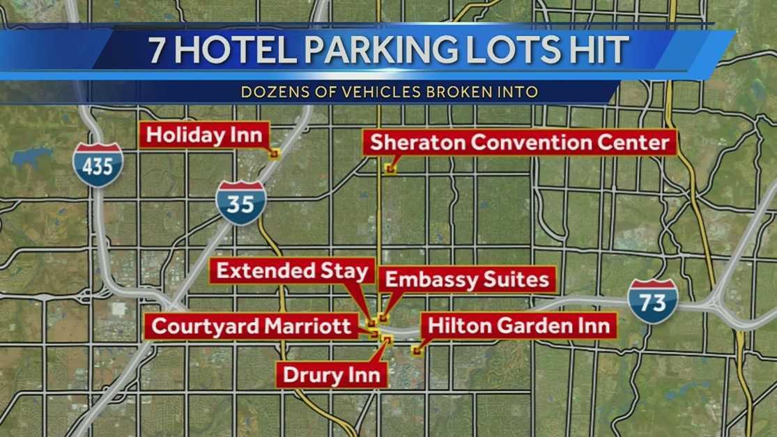 Image Parking lot burglaries
