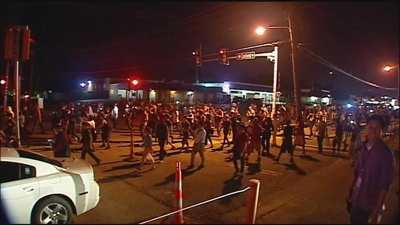 Ferguson overnight protests