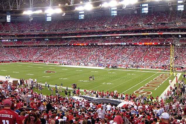 25.) Arizona CardinalsCurrent Value: $1 billion1 Year Change: +4%Revenue: $ 266 million