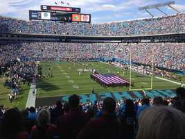 17.) Carolina PanthersCurrent Value: $1.25 billion1 Year Change: +18%Revenue: $ 283 million