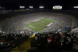 13.) Green Bay PackersCurrent Value: $1.375 billion1 Year Change: +16%Revenue: $ 299 million