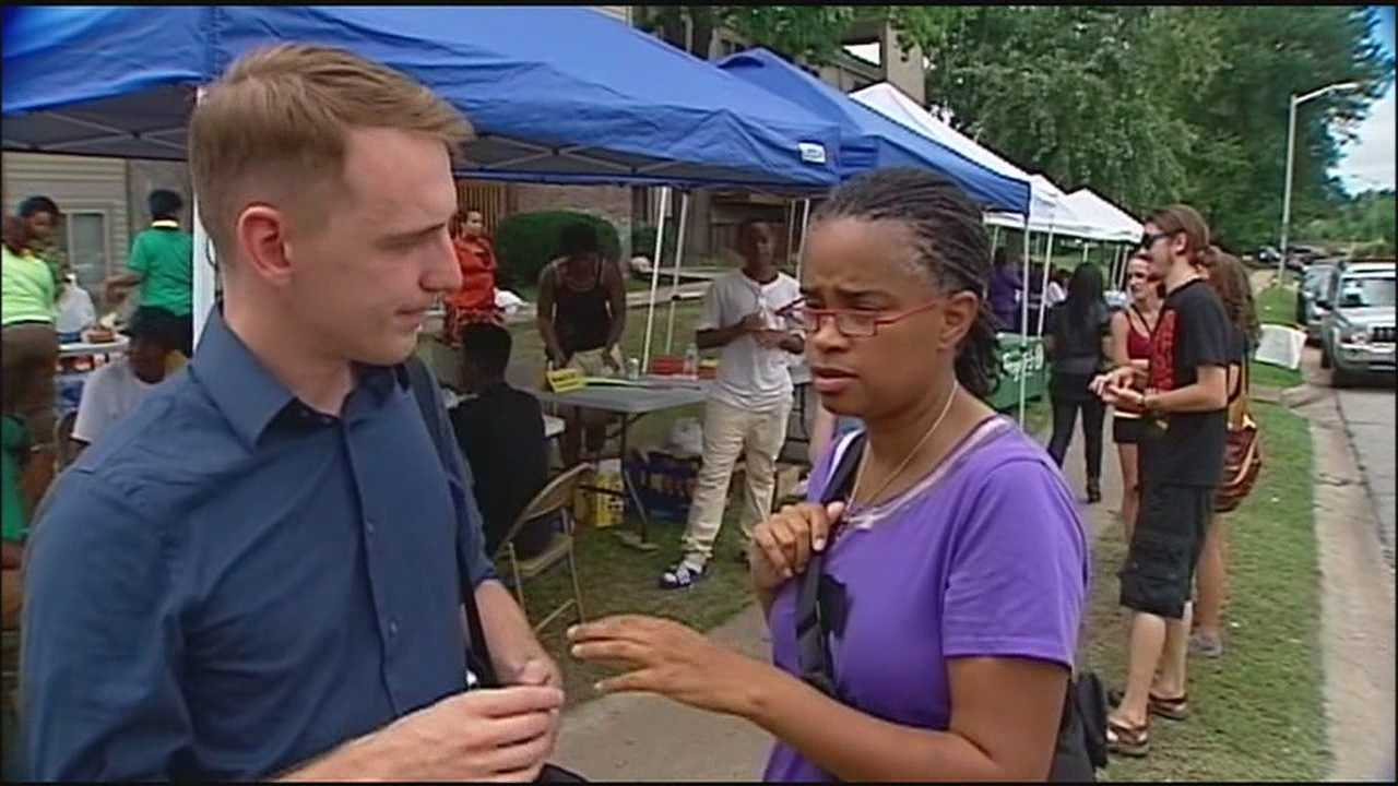Some people from the Kansas City metropolitan area are going to Ferguson, Missouri, to do what they can to help the people in the community reeling from the violence in the wake of a fatal police shooting.