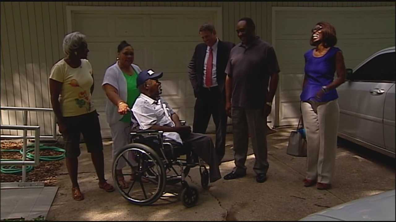 Friends asked whether 9 Can Help could find a van to help a Kansas City-area deacon and Air Force veteran get around, and Joe Williams got a wonderful surprise on Wednesday.