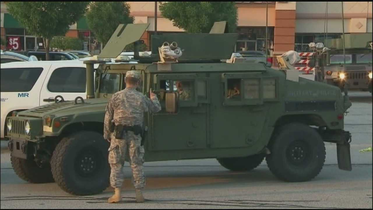 National Guard prepares to leave Ferguson