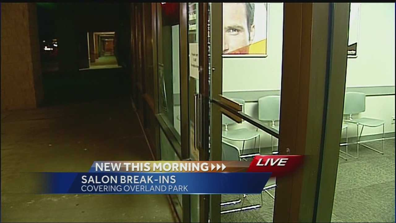 Break-ins reported at Johnson County hair salons