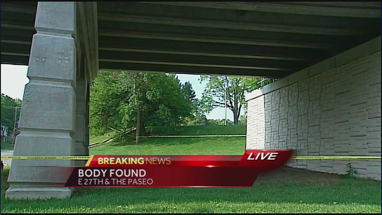 Large scene walled off after body found at Troost Lake