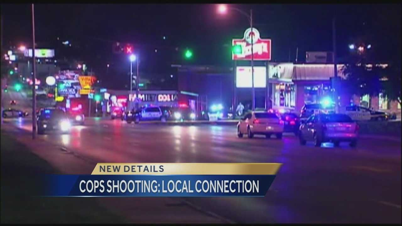 A robbery suspect and a man working for the TV show 'COPS' were shot and killed last night during an incident in Omaha. That robbery suspect, Cortez Washington, was originally from the Kansas City area.