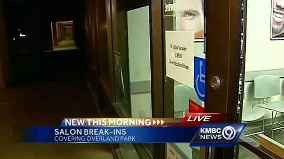 Multiple Great Clips locations broken into in the Kansas City area