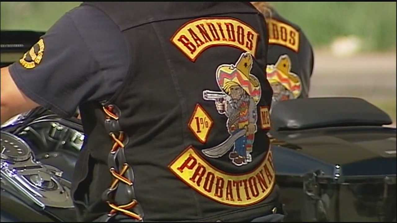 Tensions are rising in Grain Valley, Mo., where 2,000 members of the Bandidos Motorcycle Club are coming face to face with police.