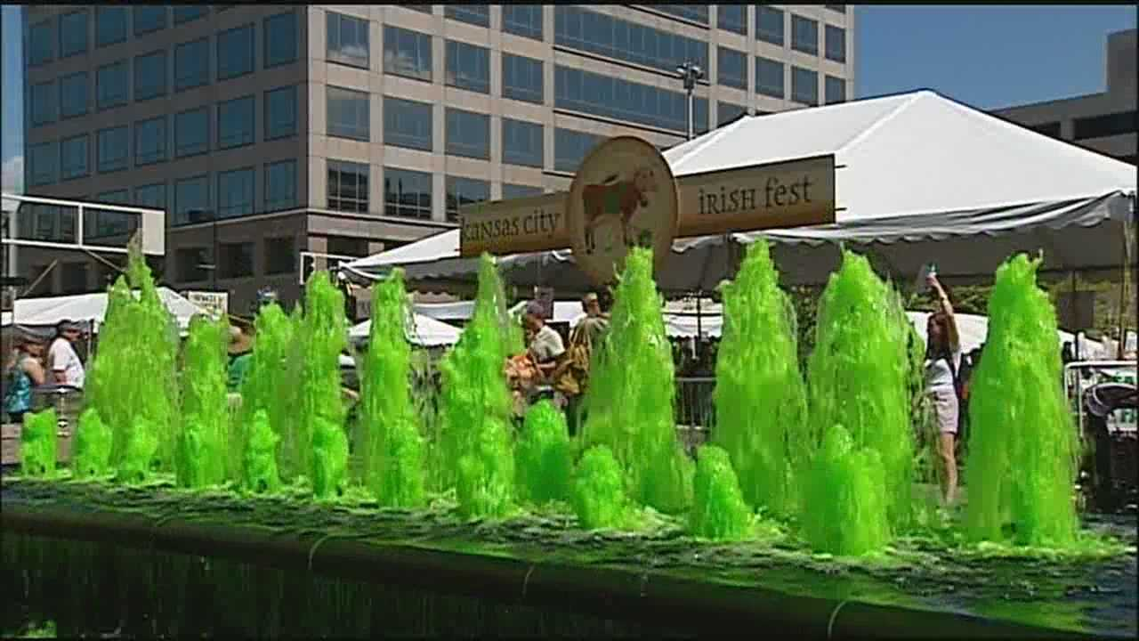 Crowds took advantage of a sunny afternoon to visit weekend festivals across the Kansas City area, including the Irish Fest at Crown Center and Santa-Cali-Gon Days in Independence.