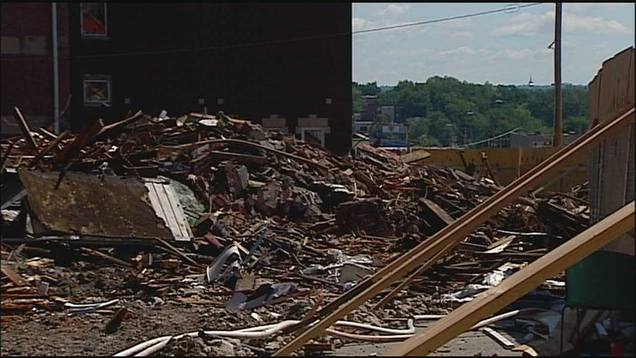 Image Church collapse demolition