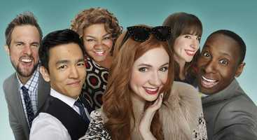 "SELFIE (7 p.m. Tuesdays. Premieres Sept. 30)Karen Gillan and John Cho star in this comedy about a woman who is a social media wizard but a social flop in real life. A modern twist on ""Pygmalion."""