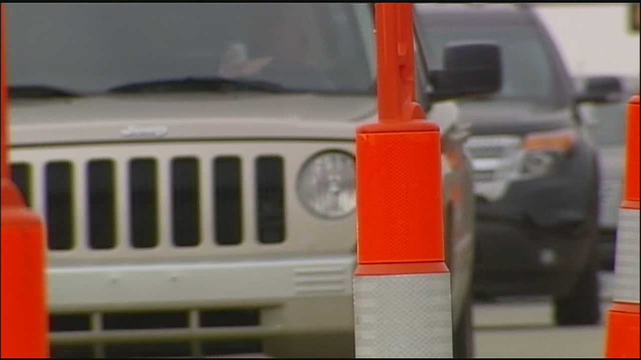 Overland Park police are keeping a special eye on people speeding through the area where the new Roe Avenue bridge is being built.