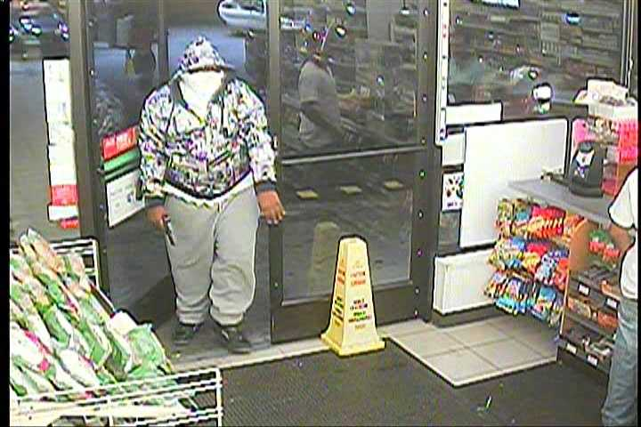Robbery detectives release surveillance pictures of a man suspected in several Kansas City convenience store robberies.