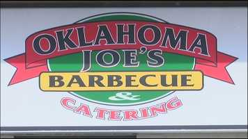 What's Stephanie's favorite BBQ place in KC?  Oklahoma Joe's.