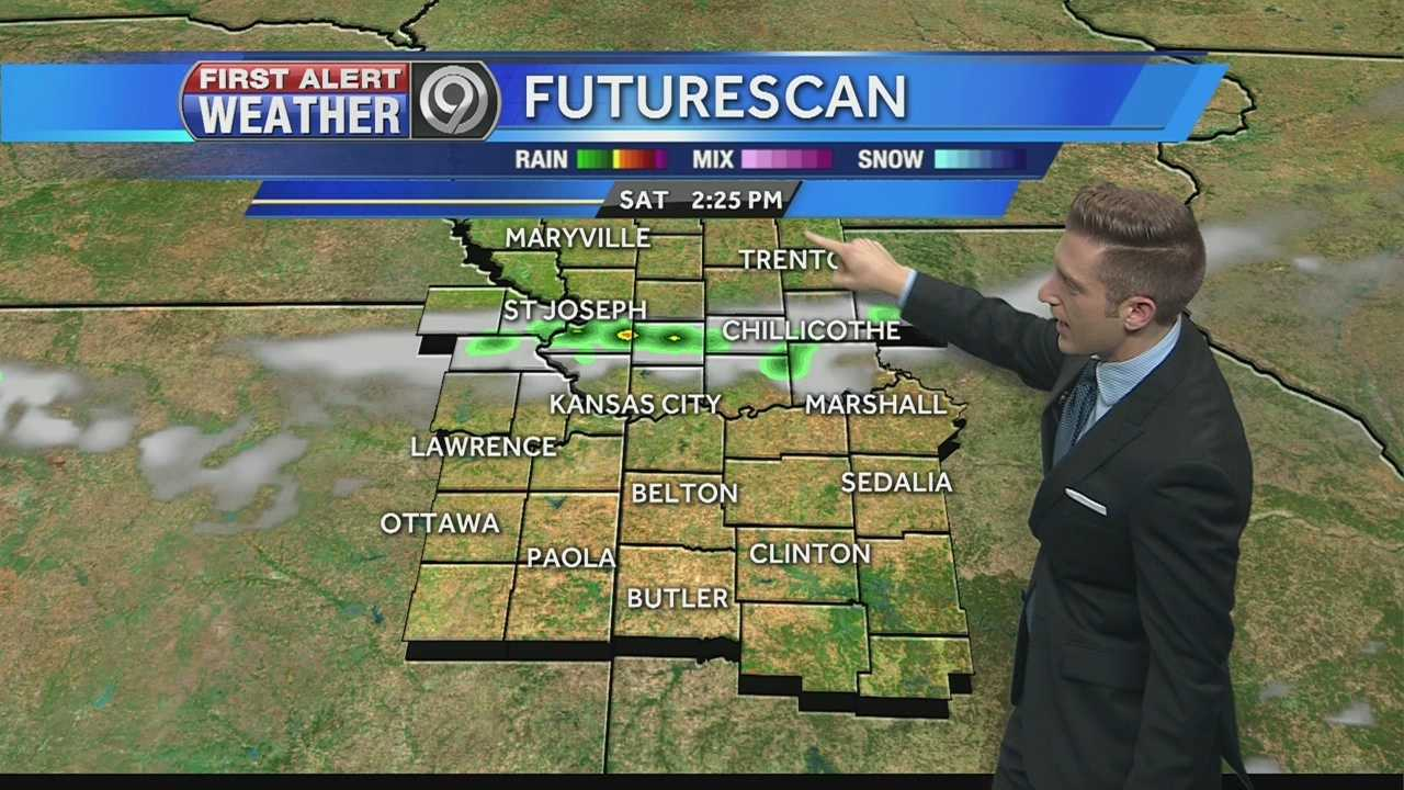 KMBC's Nick Bender tells us when we could see some storms and showers this weekend.