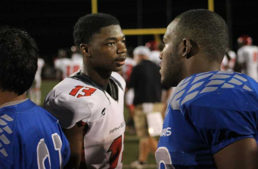 Raytown played Raytown South in Friday night's HyVee Game of the Week.