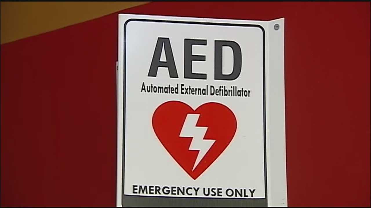 A teenager who went into cardiac arrest during a cross-country meet was revived with the help of a defibrillator, a tool that's playing a growing role in boosting the survival rates of people with these types of heart problems.