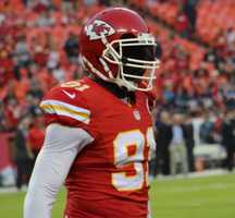 On the eve of the Royals first playoff appearance since 1985, players showed up for Monday Night Football at Arrowhead Stadium.  The baseball club from across the parking lot inspired the Chiefs.  Kansas City dominated the New England Patriots, winning 41-14.  Defensive end Tamba Hali had a critical sack, forced fumble and fumble recovery in the second half.