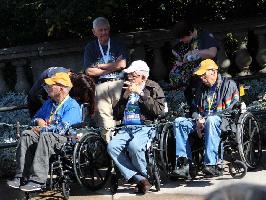 The Heartland Honor Flight is an organization operating in Kansas City.  It relies on donations to let veterans visit the memorial erected in their honor.  To donate, click here.