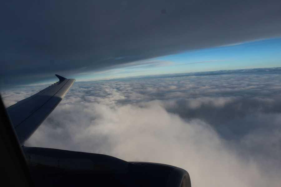 Photos from aboard the Heartland Honor Flight