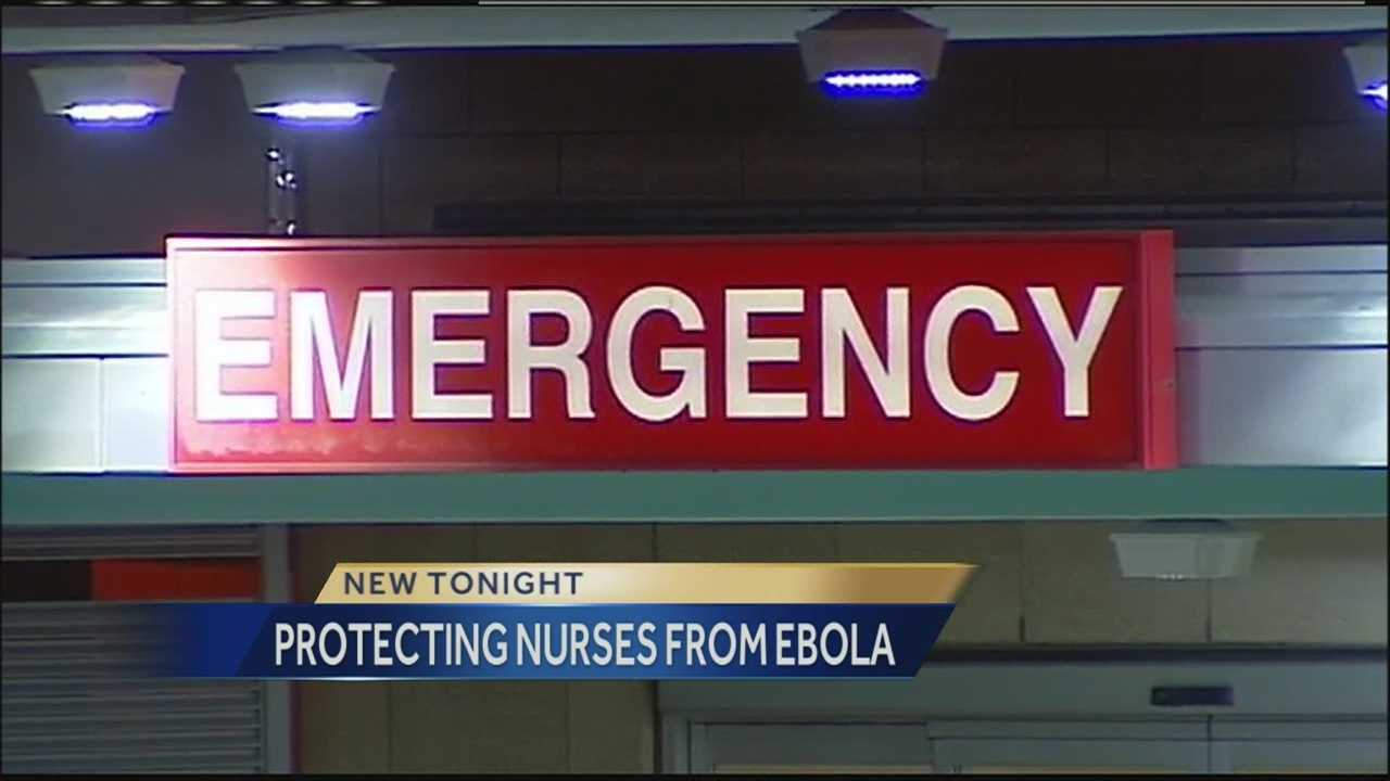 In the wake of the news that a Dallas nurse has been diagnosed with Ebola, nurses nationwide said they lack the training to protect themselves.