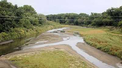 Republican River near Concordia, Kansas, 2002