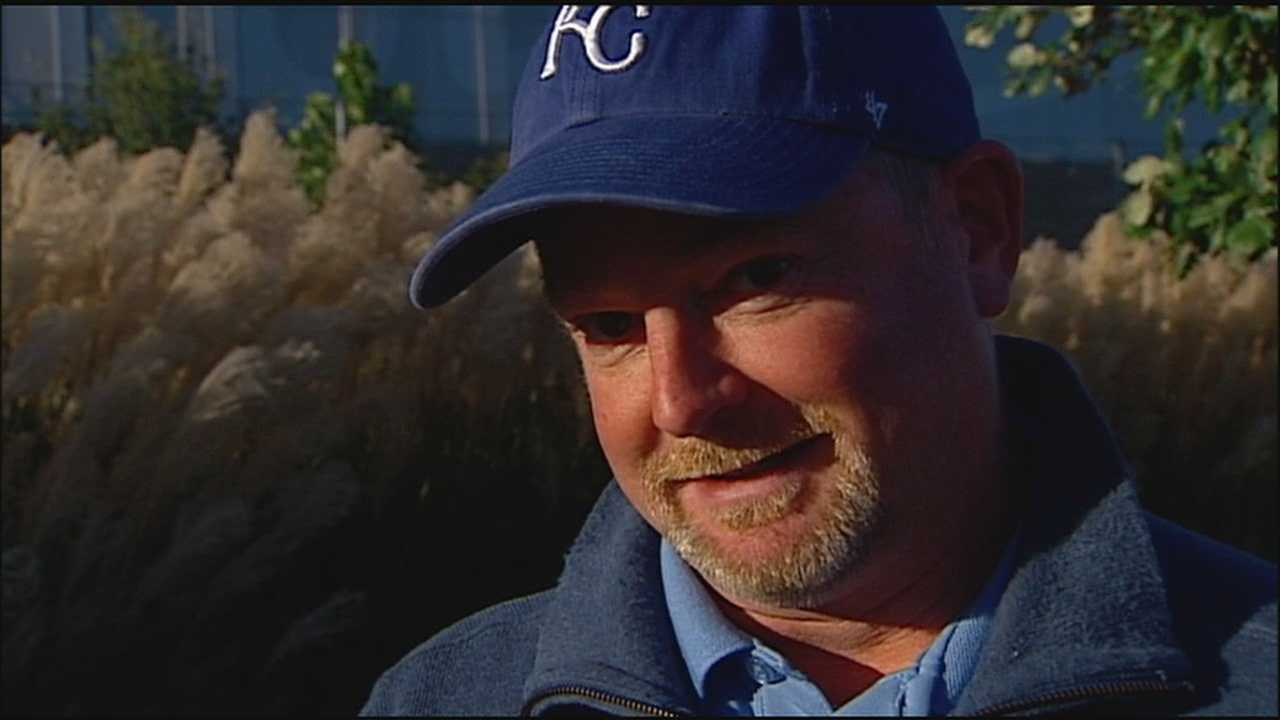 A man who was a bat boy for the Kansas City Royals during their World Series win in 1985 said he has turned his gig with the Royals into a career.
