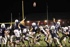 St. James Academy misses an important field goal in the second half.